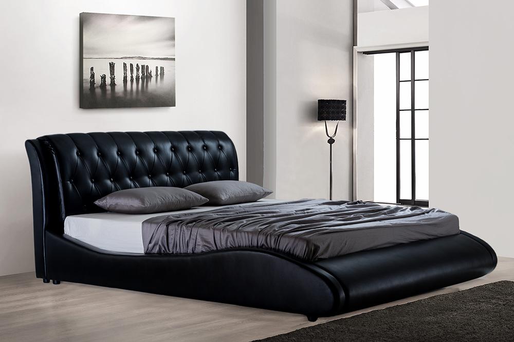Prabangi dvigulė miegamojo lova SIMONA